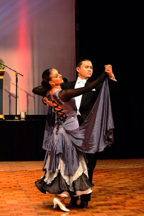 Hematite Ballroom Dress