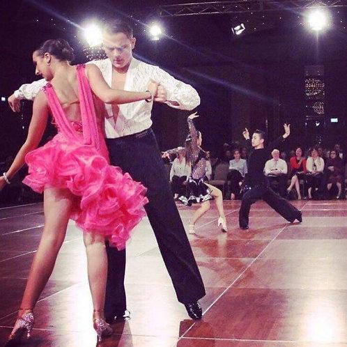 Pink Latin Junior Dress