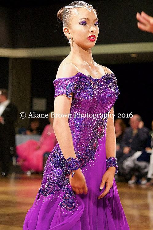Purple Standard Dress