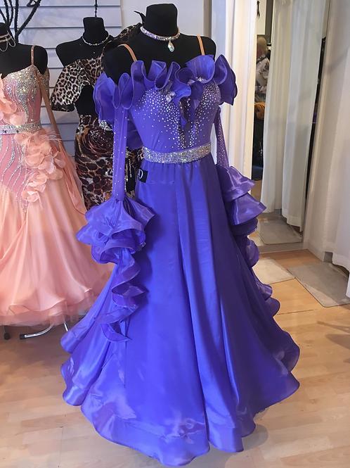 Ultraviolet Ballroom Dress