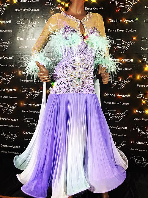 Brand New ballroom-smooth dress by number one brand in Russia