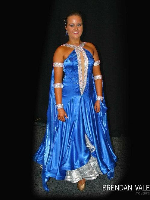 Electric Blue Brendan Vale Standard/New Vogue Dress