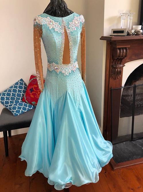 JP designs ballroom dress