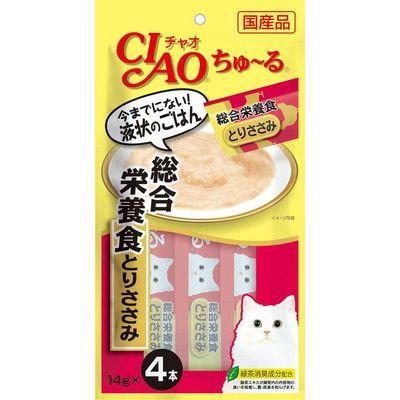 CIAO Churu Complete Nutritional Meal 14gx4pcs/pk