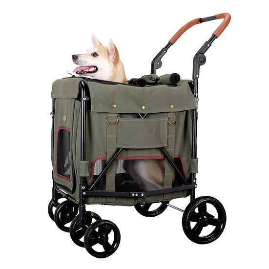 Ibiyaya Gentle Giant Dual Entry Easy-Folding Pet Wagon