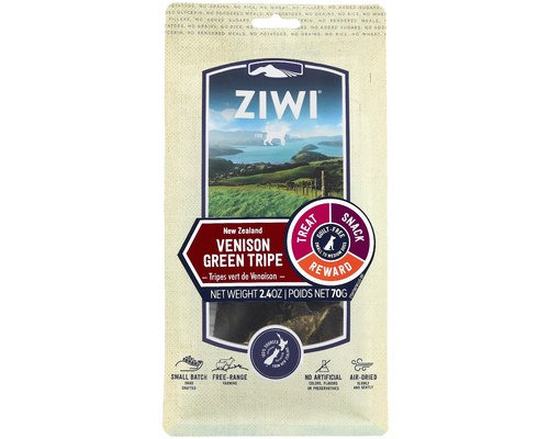 ZIWIPEAK Venison Green Tripe Oral Chews Treats 70G