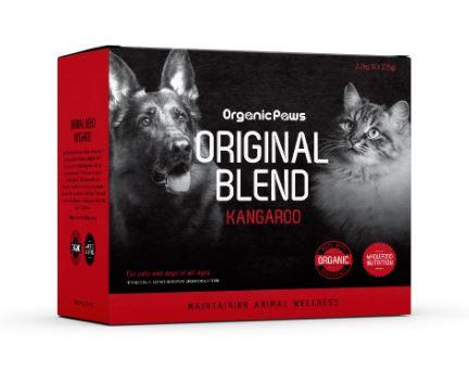Organic Paws Original Blend Kangaroo 8x275g