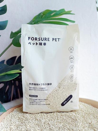 Forsure Pet Organic Tofu Cat Litter 3.2kg/8L