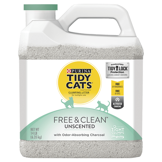 Tidy Cats Free And Clean Unscented Clumping Litter