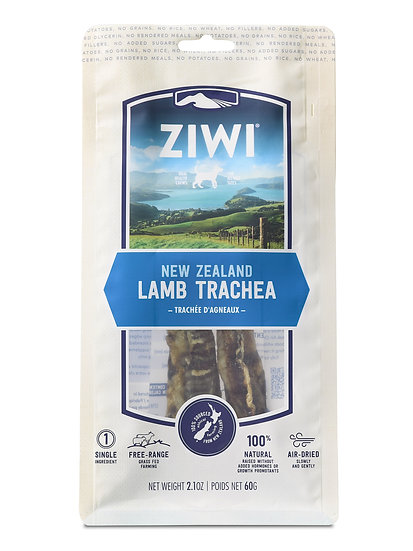 ZiwiPeak Lamb Trachea Oral Chews for Dogs 60g