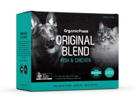 Organic Paws Original Blend Fish&Chicken 8x275g