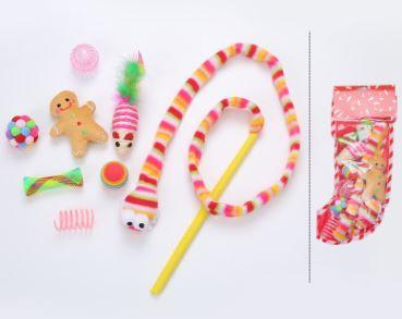 Colorful Xmas Toy Set