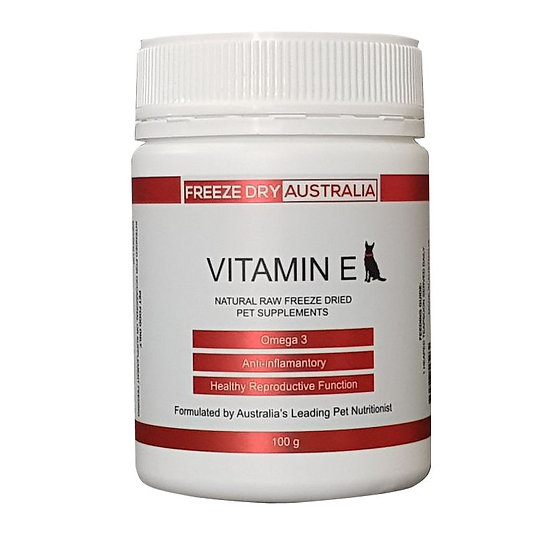 Freeze Dry Australia Natural Raw Freeze Dried Vitamin E 100g