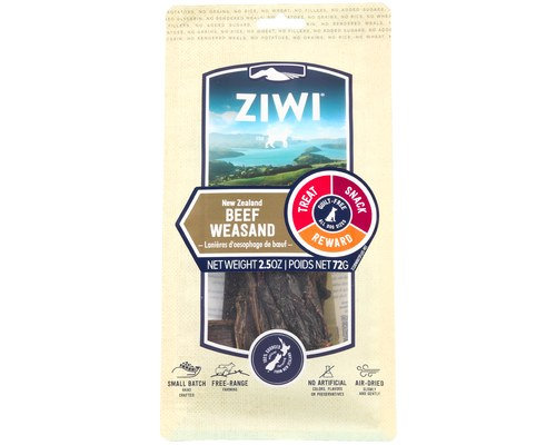 ZiwiPeak Beef Weasand Oral Chews for Dogs 72g