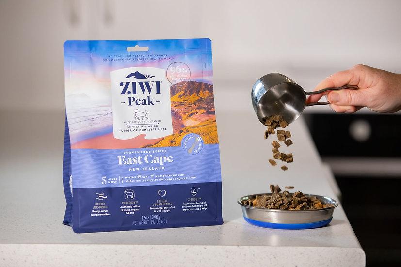ZiwiPeak Provenance Ultimate Air-Dried Cat Food East Cape