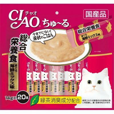 CIAO Churu Complete Nutritional Meal 14gx20pcs/pk
