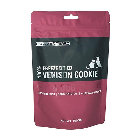 Australian Freeze Dried Treats Venison Cookie 100g