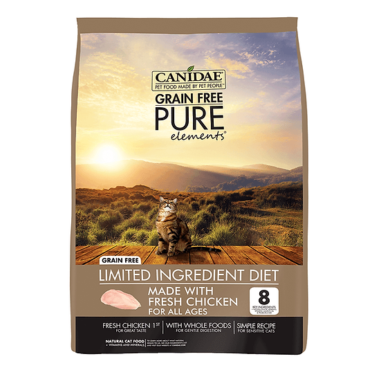 CANIDAE Cat Grain Free Pure Element 4.54kg