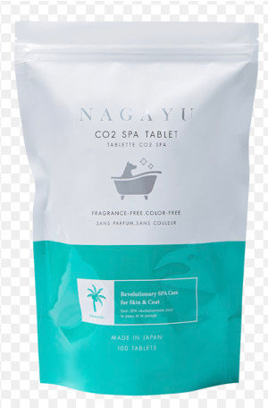 Nagayu CO2 Bathing Tablet with Coconut Oil