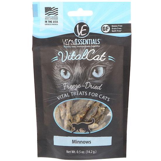 Vital Essentials Freeze-Dried Minnows for Cats 14.2g