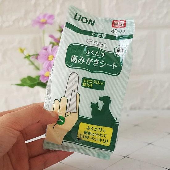 Lion Dental Wipes (30pcs)
