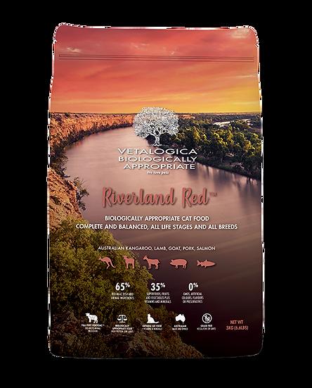 Vetalogica Biologically Appropriate Riverland Red Adult Cat Food 3kg