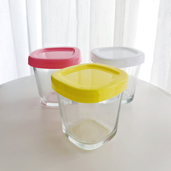 Rectangle Glass Container 150ml