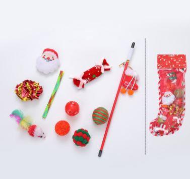 Red Xmas Toy Set