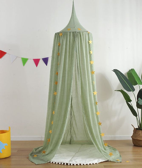 Cotton Nordic Style Dome Curtain