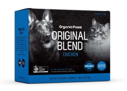 Organic Paws Original Blend Chicken 8x275g