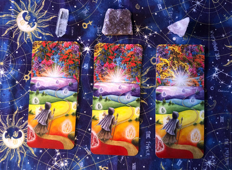Full Moon - July 2020 - Pick your Cards
