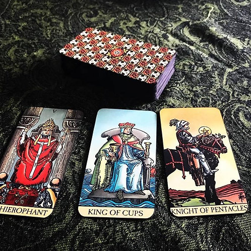 Three Card Tarot Card Reading