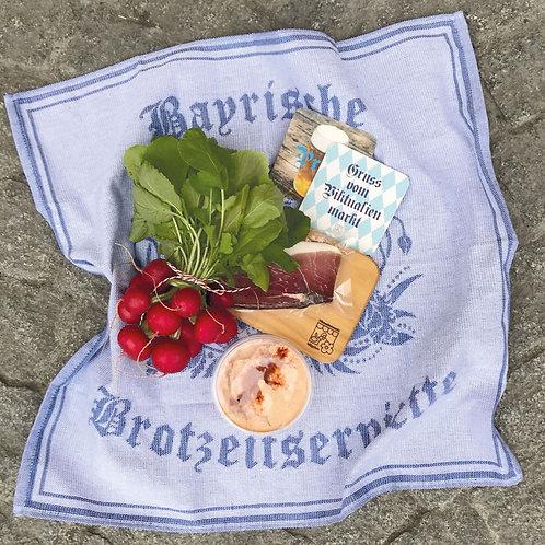 Bayerische Brotzeitserviette