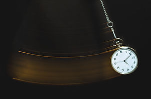 Pocket watch swinging