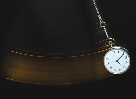 El tiempo, que es ... como lo sentimos ...