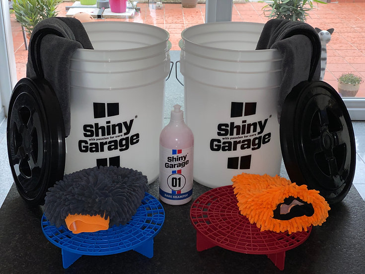 S&H Shiny Garage Wasch Kit XL3