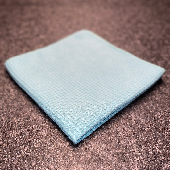S&H Glasklar - Waffel Glastuch extrem saugstark und fusselfrei