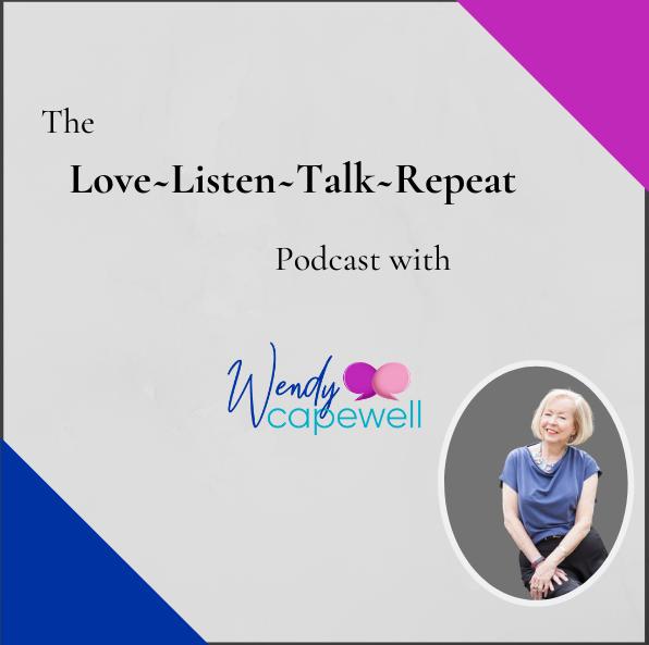 The Love Listen Talk Repeat Podcast cove