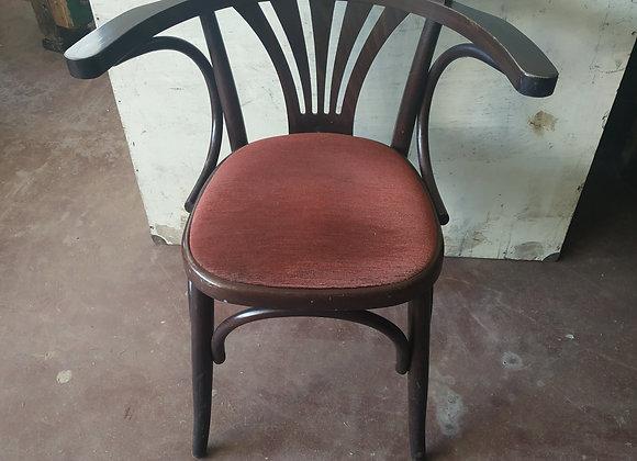 Chaise de bistrot de type baumann