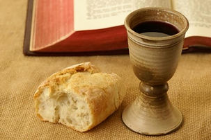 Communion. The table is open