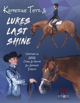 Horse Show Program Exhibitor Ad 2018