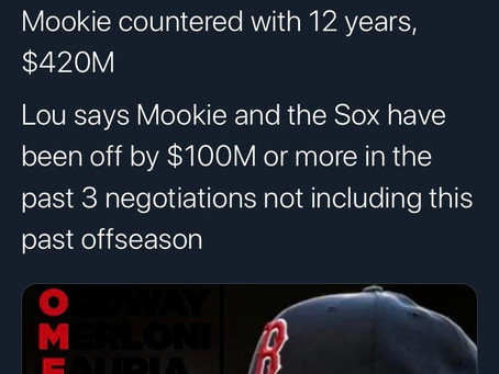 Why the Red Sox Traded Mookie Betts