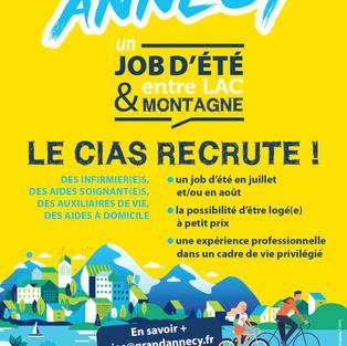 Job d'été CIAS - Annecy (74)