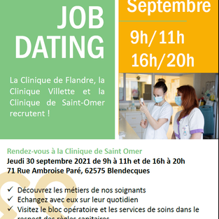 Job dating - Elsan à Saint-Omer (62)