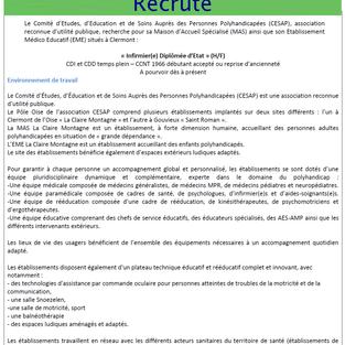 IDE CDI et CDD - CESAP Clermont (60)