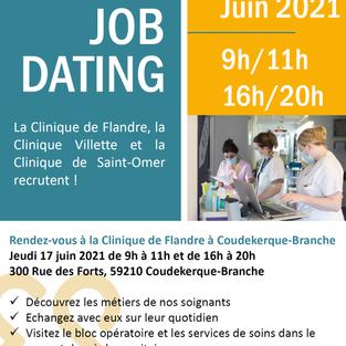 Job dating - Clinique de Flandre à Dunkerque