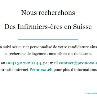 Infirmiers - Suisse