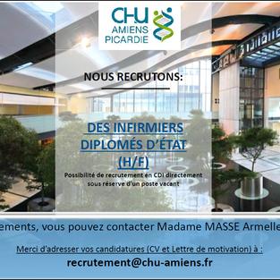 Infirmiers - CHU d'Amiens