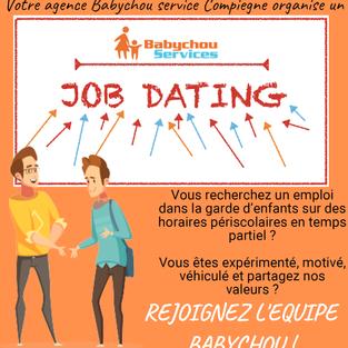 Job dating - Babychou Compiègne (60)