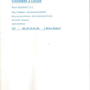 Chambre à louer - Compiègne